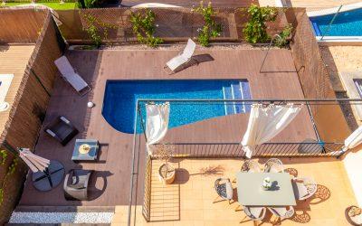 Puig de Ros Pareado 4 dormit.+Piscina y Jardin! Incluye 2 Parking. Precio 550.000 Eur