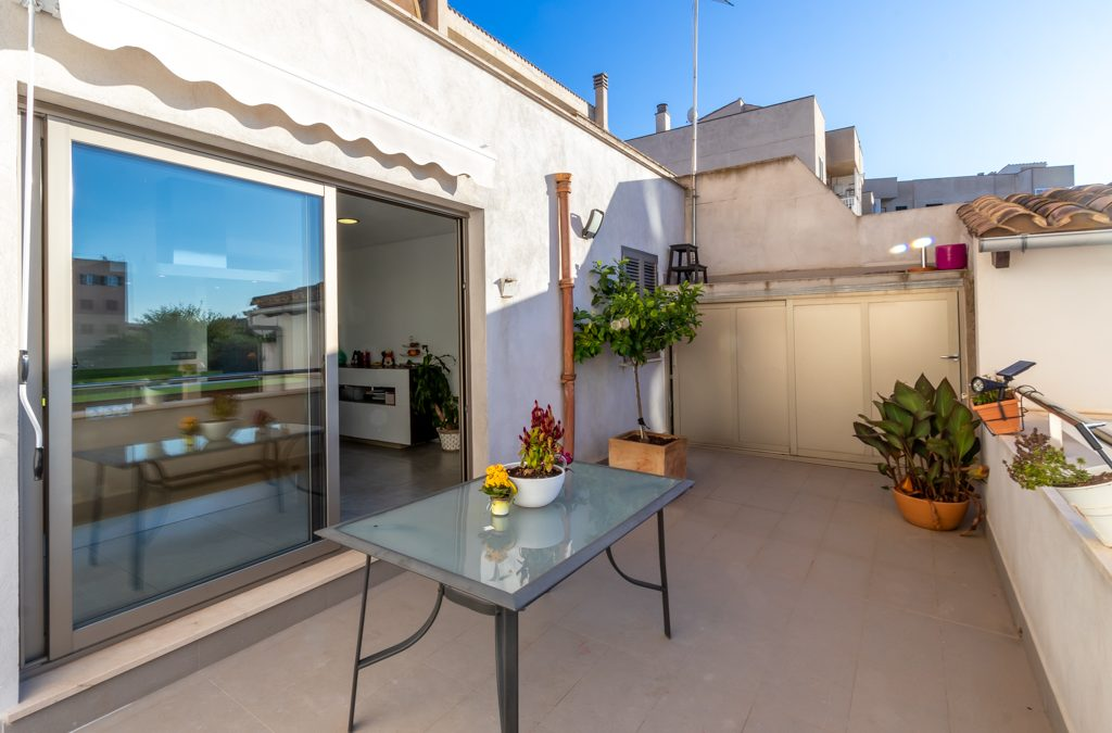 LLucmajor Piso 3 dormitorios+terraza 20m2+Solarium 45m2. Precio 214.500€