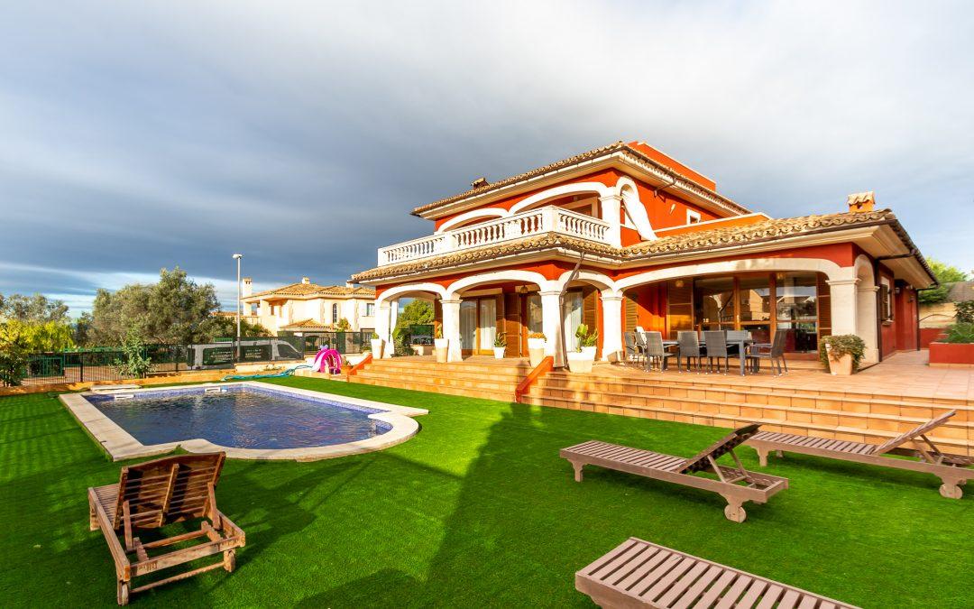 Marratxi San Marçal Chalet +Piscina,Jardin y Garaje! Precio 820.000€