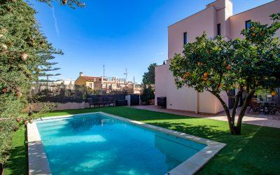Son Rapinya Chalet Unifamiliar 4 dormitorios+Piscina, Jardin y Garaje!. Precio 800.000€