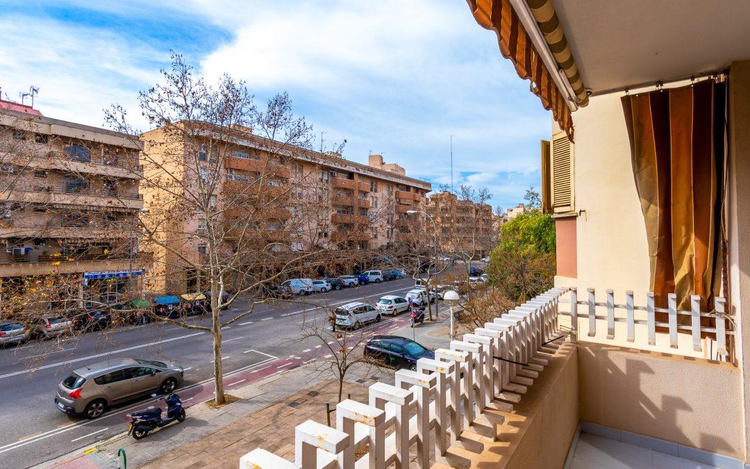 Son Oliva Piso 3 dormitorios+2 balcones. Incluye Garaje y Trastero. Precio 235.000€
