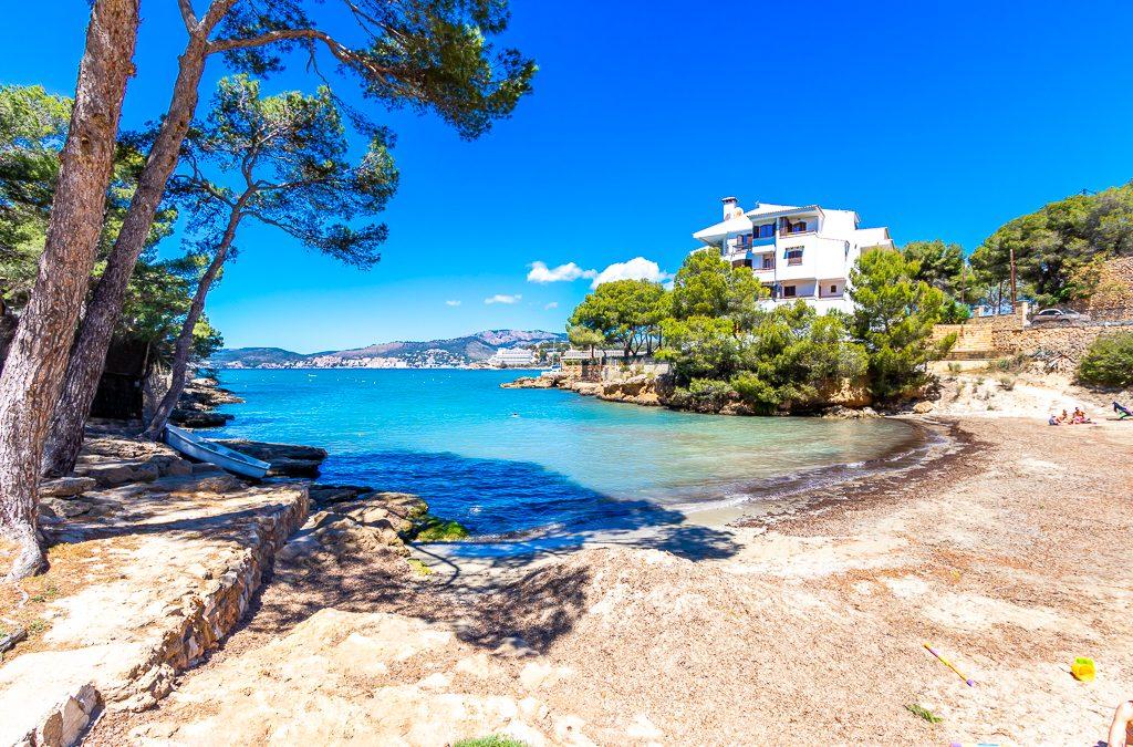 Santa Ponsa Piso 2 dormitorios+terraza 12m2!Vistas al Mar. Incluye Parking y Trastero. Precio 235.000€