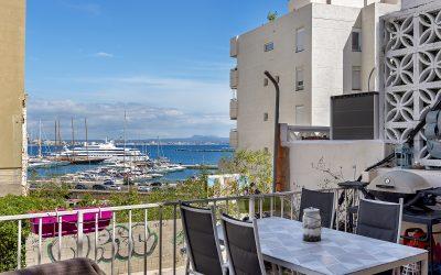 Porto Pi Piso 3 dormitorios+Terraza 25m2. Vistas al Mar! Precio 272.000€