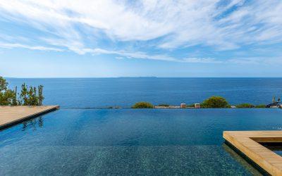 Cala Pi Villa en 1º línea de Mar + Piscina ,Jardín, terrazas y garaje. Precio 5.400.000€